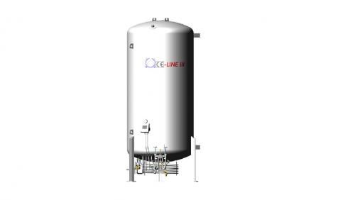 Oxygen Cryogenic Storage Tank